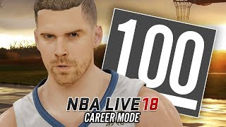 NBA LIVE 18 Career Mode - Ep 3 - BREAKING ANKLES!! PERFECT GAME!! (NBA Live 18 The One #3)