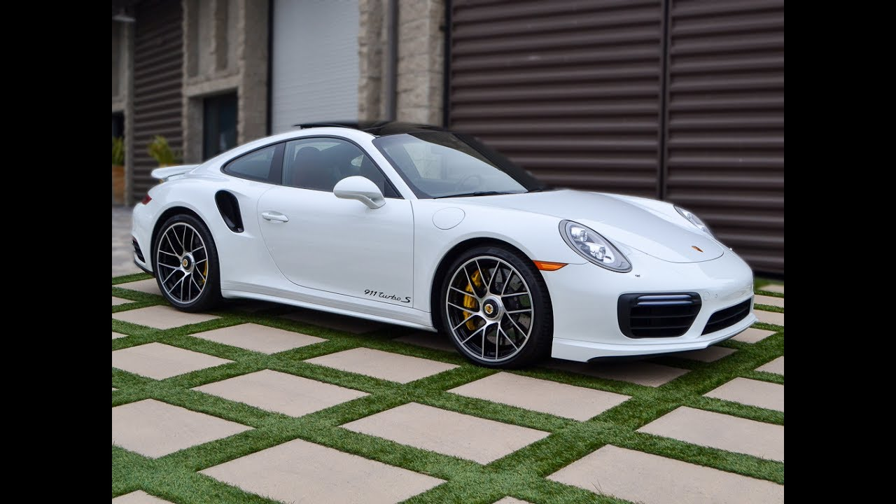 Corvette For Sale >> SOLD 2017 White Porsche 911 Turbo S Coupe, 2k miles for ...