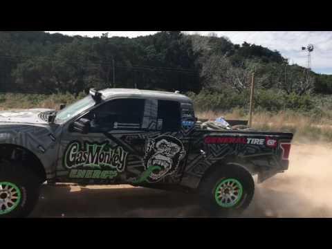 Gas Monkey Energy/General Tire Pre-Runner Shake Down