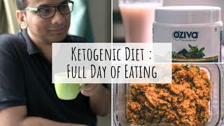 What My Husband Eats In A Day on the Keto Diet | Keto Diet Full Day of Eating - Indian | Saloni