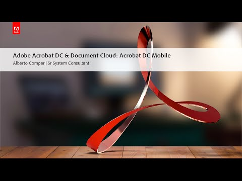Adobe Acrobat DC & Document Cloud: Acrobat DC Mobile