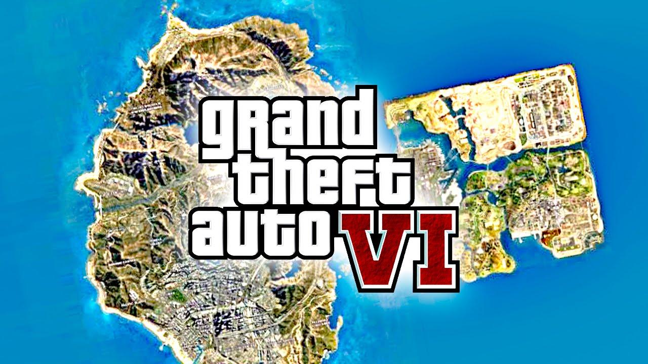 GTA 6 YA ESTA TERMINADO EL MAPA - Grand Theft Auto VI ( GTA VI )   Zoko - YouTube