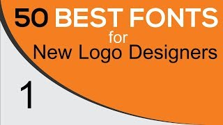 Best Fonts | Best Fonts For Graphic Logo Design