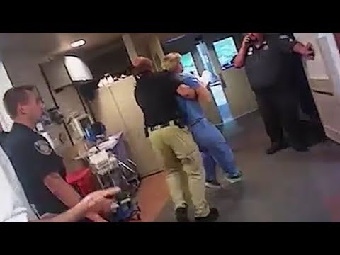 Utah nurse arrested for not giving patient's blood to police