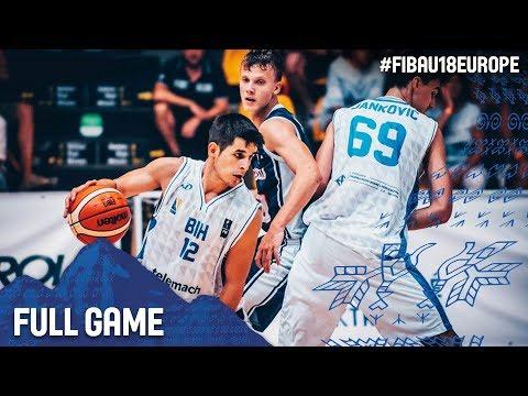 Bosnia and Herzegovina v Slovak Republic - Full Game - FIBA U18 European Championship 2017