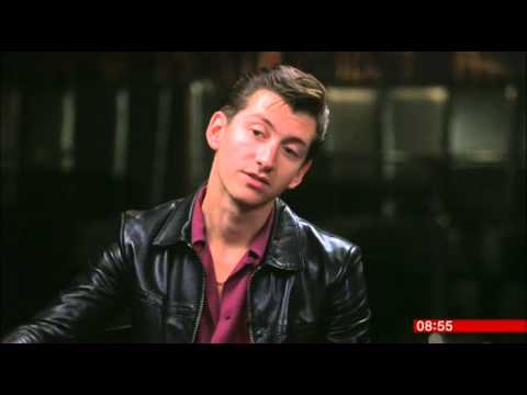 Alex Turner Arctic Monkeys  BBC Breakfast