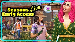 The Sims 4 Seasons Build Buy Review Live Stream Replay