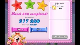 Candy Crush Saga Level 888     ★★★   NO BOOSTER