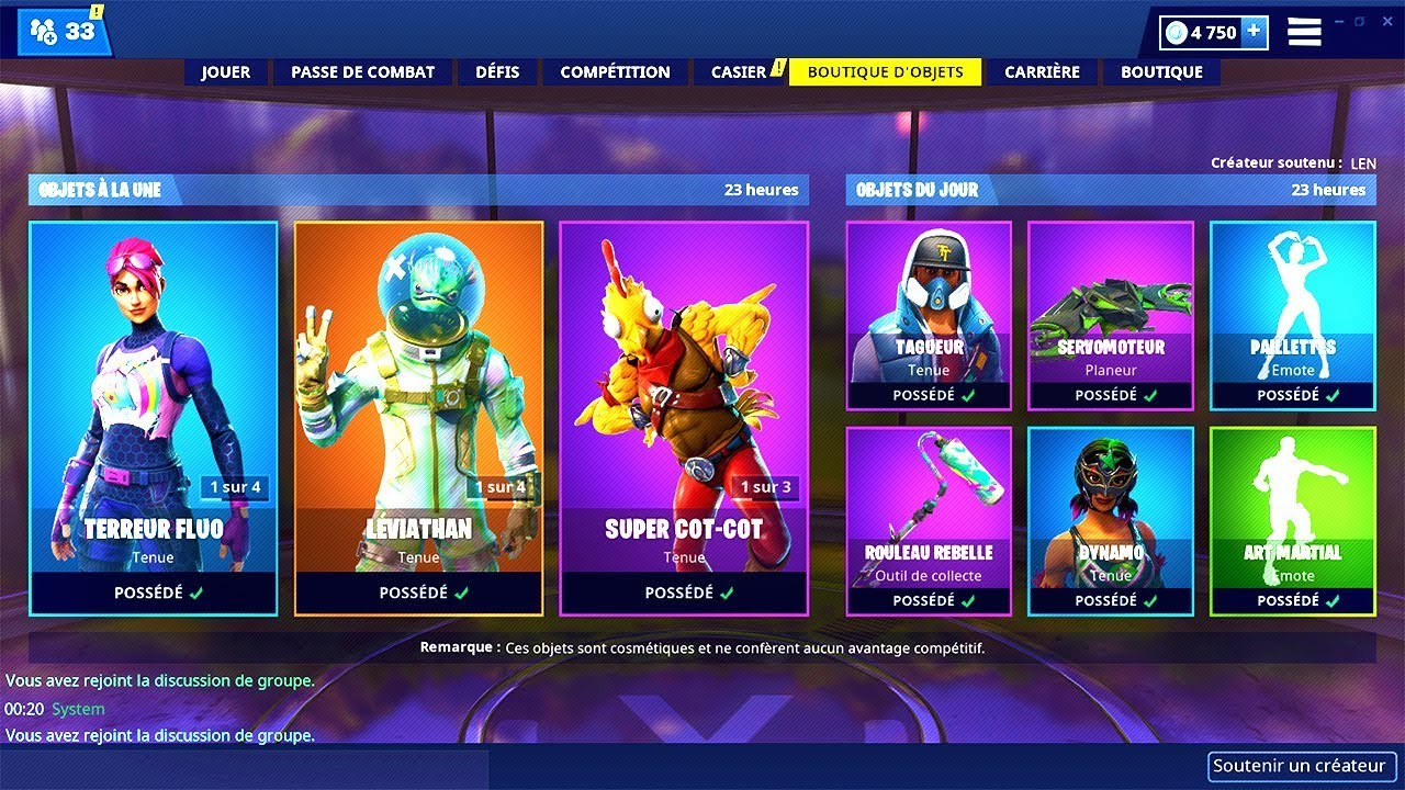 BOUTIQUE FORTNITE du 28 Mai 2019 ! ITEM SHOP May 28 2019 !
