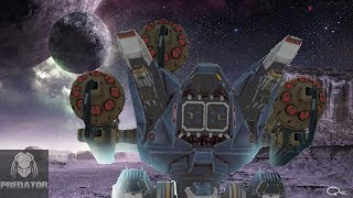 CLOSEST GAME I'VE PLAYED | DASH BOTS ON POWERPLANT VS HOOD | War Robots