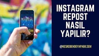 İNSTAGRAMDA REPOST NASIL YAPILIR?