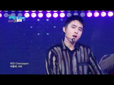 【TVPP】 EXO -Louder , 엑소 – 라우더 @Show! Music Core Live