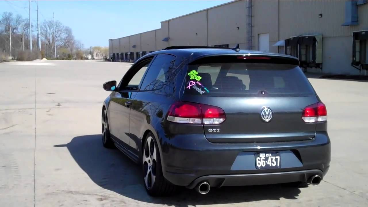 Official MK6 GTI Exhaust Thread - VW GTI MKVI Forum / VW