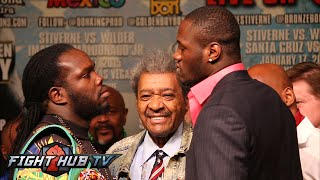 Bermane Stiverne vs. Deontay Wilder Full video- Final Press conference- heated face off