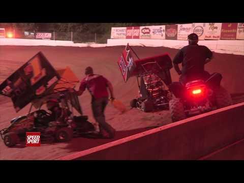 SPEED SPORT Challenge Part 8 - Millbridge Speedway - MAVTV - SPEED SPORT - Racing - Mini Outlaw