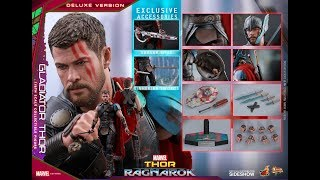 HOT TOYS - THOR GLADIATOR - DELUXE - MMS 445 - THOR : RAGNAROK - REVIEW FRANCAISE FRENCH