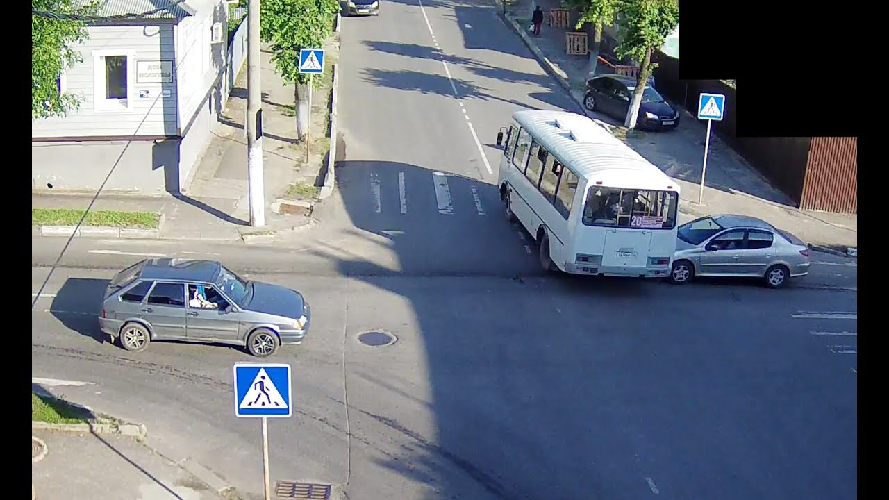 ДТП в Серпухове. Тормозила об автобус... 11 июля 2017г.