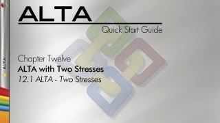ALTA 8 Quick Start Guide Chapter 12.1: Accelerated Life Testing Data Analysis - Two Stresses