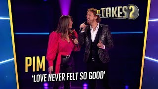 It Takes 2: Pim Muda & Trijntje Oosterhuis zingen Love Never Felt So Good