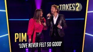 It Takes 2: Pim Muda & Trijntje Oosterhuis zingen Love Never Felt So Good