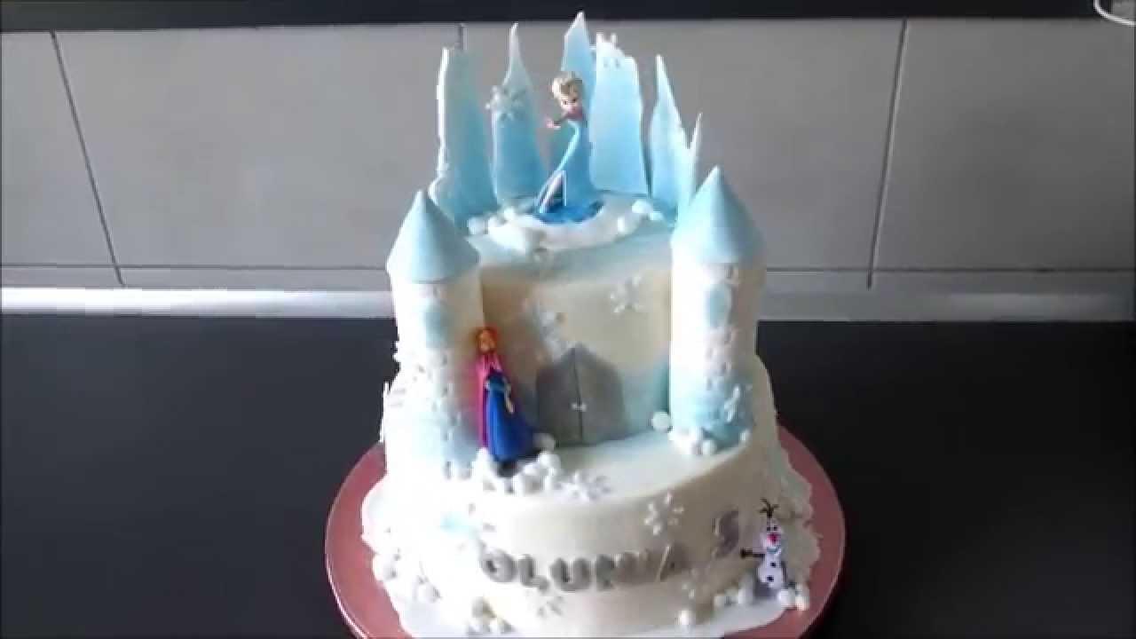 Frozen Castle Cake Pictures