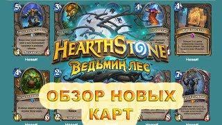 Обзор новых карт Ведьмин Лес Hearthstone (часть 2)