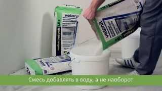 Как правильно выровнить стены, потолок с помощью финишной шпаклевки Weber Vetonit