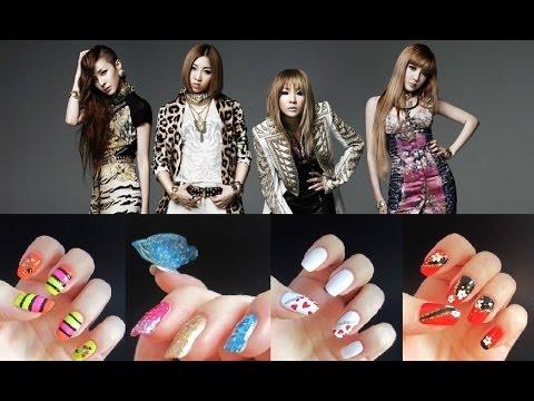 2ne1's love nails