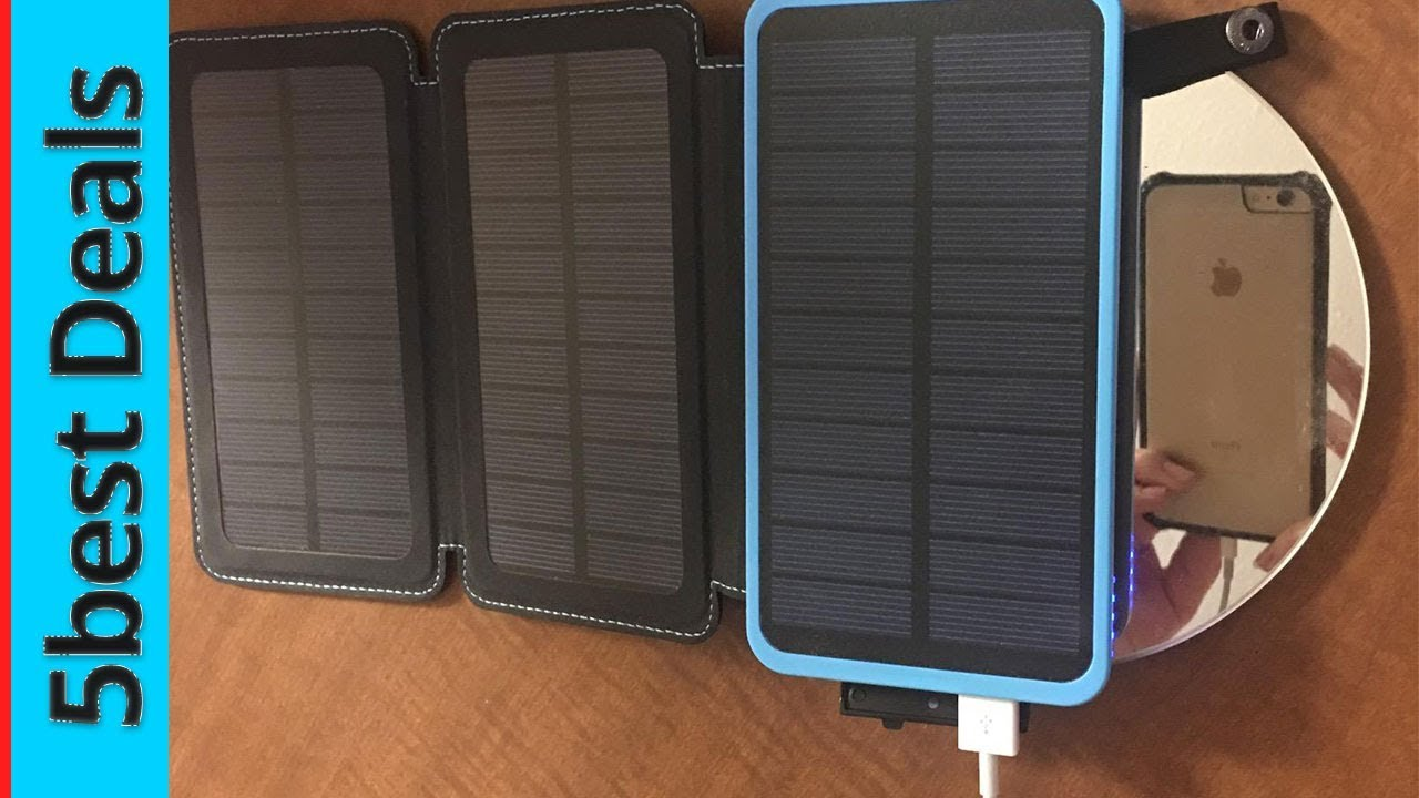 Best Solar Products 2020 The Top 5 Best Solar Power Bank 2020   YouTube