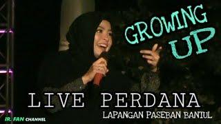 Live Perdana Single Baru Kotak Growing Up Live Lapangan Paseban Bantul