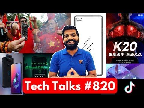 Tech Talks #820 - Redmi K20 Launch, Realme X India, Redmi Note 7S, Samsung S11, Black Shark 2