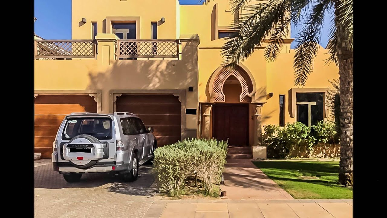 Beautiful 5 Bedroom Garden Home Villa Palm Jumeirah - YouTube