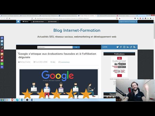 Faut-il optimiser ses ancres en guest blogging ? + Veille SEO 12/04/2021