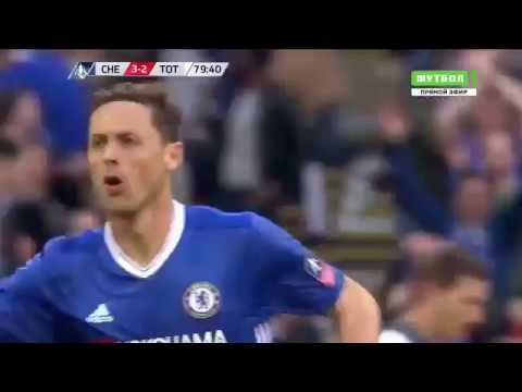 Челси - Тоттенхэм гол Неманьи Матича