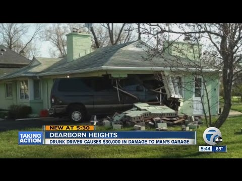 Insurance won't fully cover WWII vet's large repair estimate after drunk driver crashes into garage