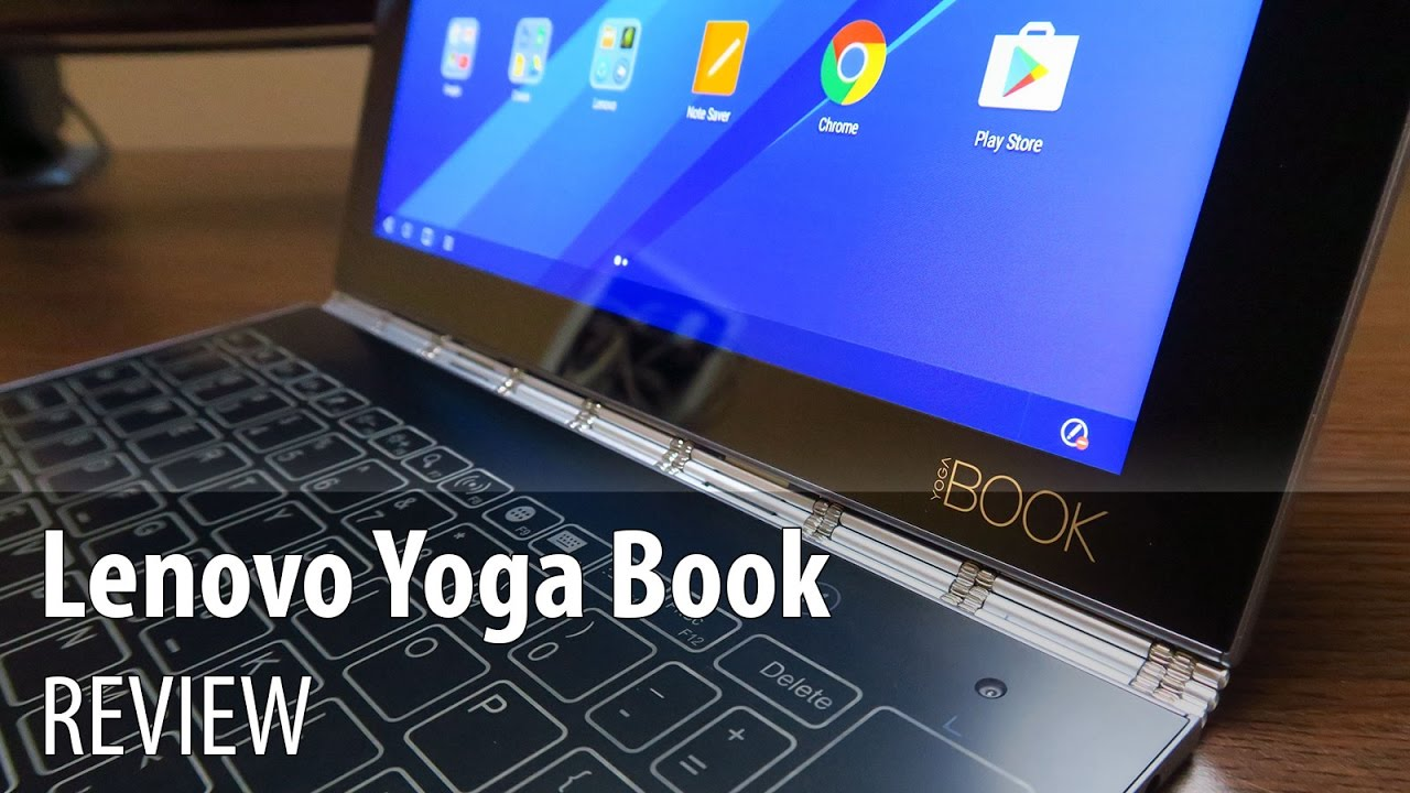 Lenovo Yoga Book Review (10 1 inch Android Tablet with touch keyboard,  metal hinge, Real Pen)