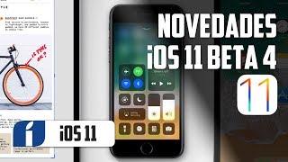 10+ novedades iOS 11 beta 4 en español