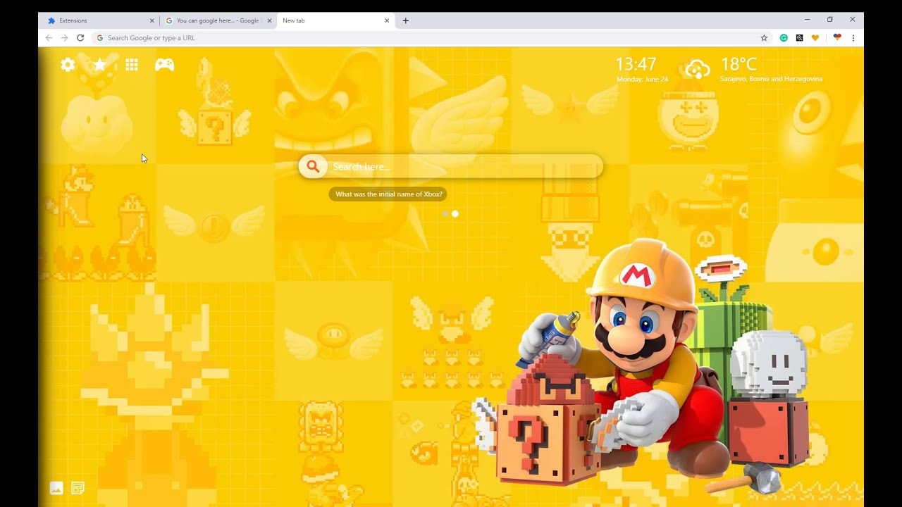 Great Super Mario Maker 2 Wallpaper Collection Theme For Fans