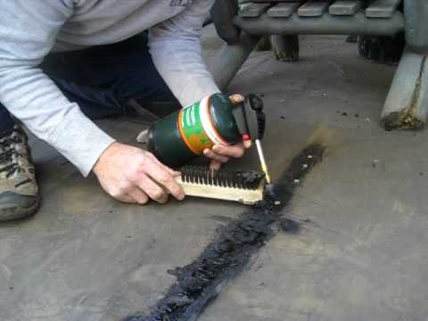 Flat Roof Repair Youtube