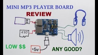 MP3 music player board REVIEW