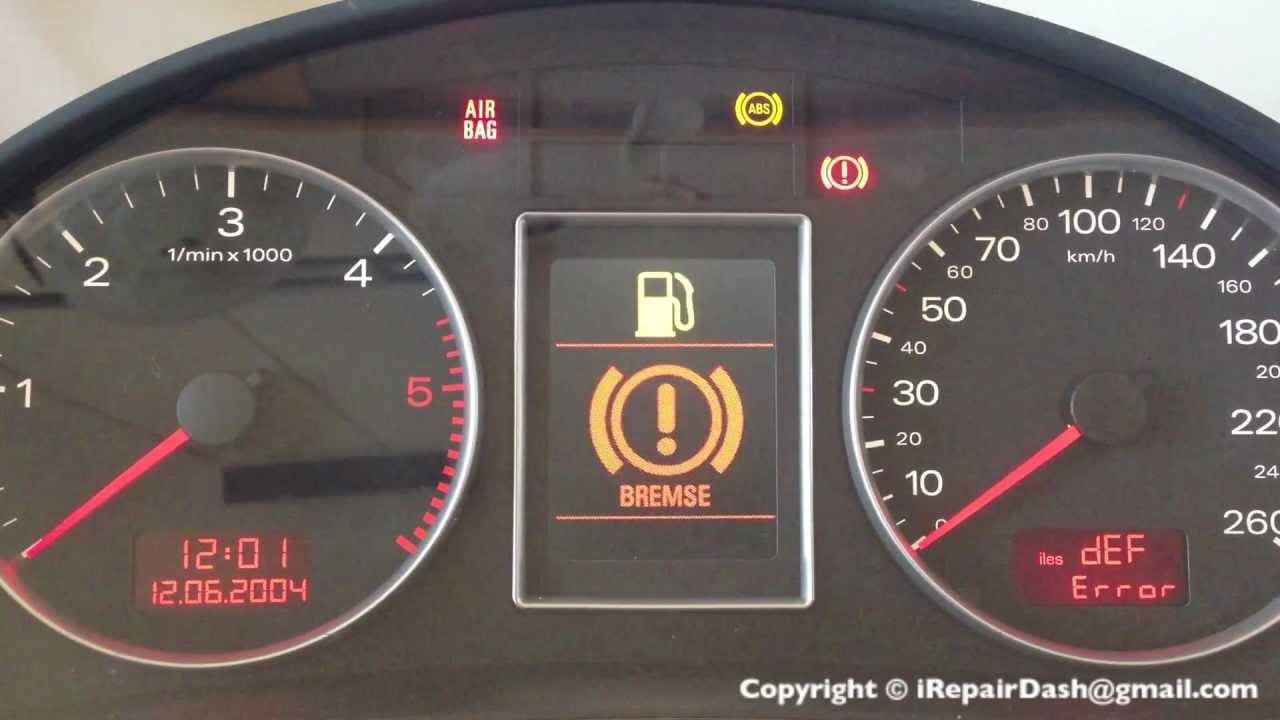 Bosch Rb4 Rb8 Def Error Reparatur Bei Allen Audi A4 S4