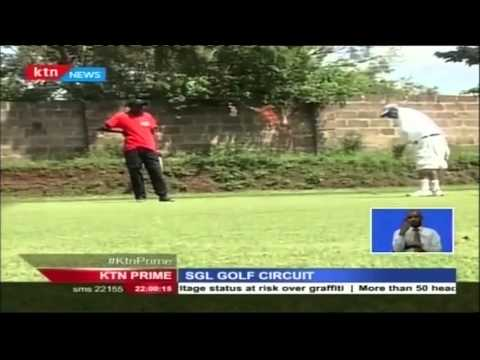 Nyeri's Mose Sammy wins Staff Prize in the SGL Golf Circuit
