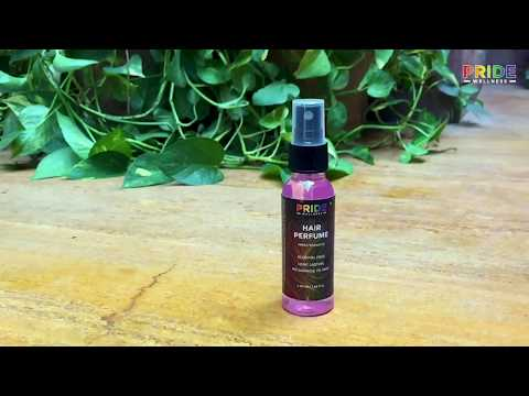 Pride Wellness- Hair Perfume Spray, Fresh & Fruity, No Alcohol, Mist, Chemical Free, No Frizzy Hair