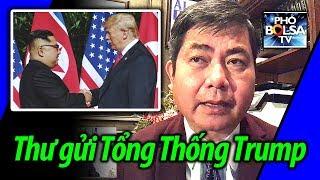 Thư gửi Tổng thống Trump trước hội nghị thượng đỉnh Mỹ-Triều tại Hà Nội