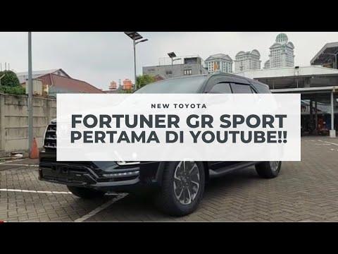 Toyota New Fortuner GR Sport 2021 Diesel | Black | Indonesia PERTAMA DI YOUTUBE!!