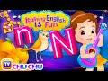 ChuChu TV Learning English Is Fun™   Alphabet N Song   Phonics & Words For Preschool Children