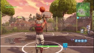 I SHOT A THREE WITH THE NEW BASKETBALL TOY- Fortnite Battle Royale