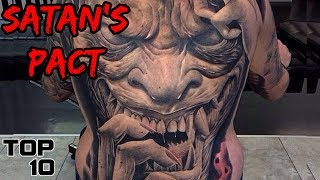 Top 10 Scary Tattoos That People Have Got
