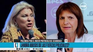 Eduardo Capdevila y Facundo Peréz Lloveras | Polémica por el nuevo protocolo de seguridad