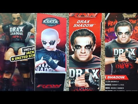Mattel Makes A Drax Shadow Action Figure (From Stephanie Mcmahon) (Daily #633)